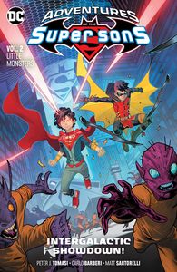 [Adventures Of The Super Sons: Volume 2: Little Monsters (Product Image)]