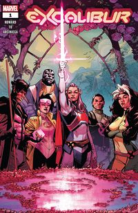 [The cover for Excalibur #1 DX]