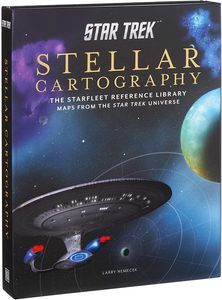 [Star Trek: Stellar Cartography: The Starfleet Reference Library Maps (Hardcover) (Product Image)]