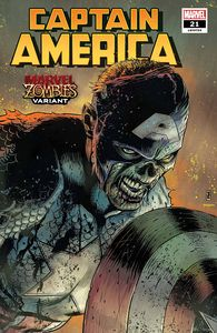 [Captain America #21 (Zircher Marvel Zombies Variant) (Product Image)]