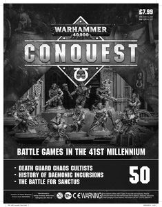 [Warhammer 40K: Conquest: Figurine Collection #50 (Product Image)]