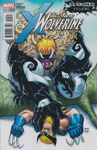 [All New Wolverine #24 (Venomized Sabretooth Variant) (Product Image)]