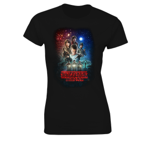 [Stranger Things: Women's Fit T-Shirt: Turn It Up To Eleven (Product Image)]