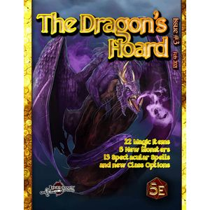 [The Dragon's Hoard: Issue #3 (5th Edition Compatible) (Product Image)]