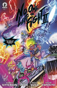 [No One Left To Fight II #2 (Cover B) (Product Image)]