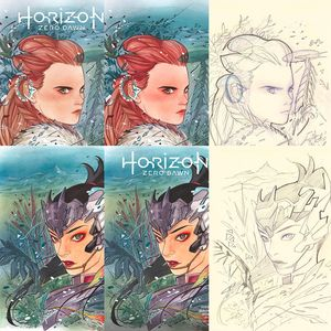 [Horizon Zero Dawn #1 (Peach Momoko Forbidden Planet Convention Exclusive Set) (Product Image)]