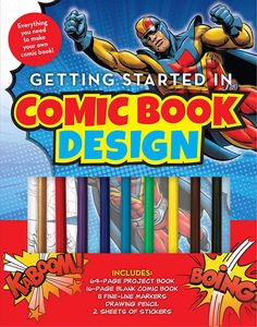 [Getting Started In Comic Book Design (Product Image)]