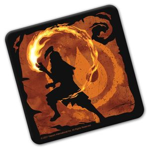 [Avatar The Last Airbender: Coaster: Fire Element (Product Image)]
