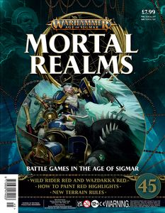 [Warhammer: Age Of Sigmar: Mortal Realms #45 (Product Image)]