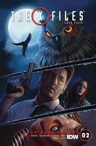 [The X-Files: Case Files: Hoot Goes There #2 (Cover A Nodet) (Product Image)]