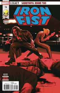 [Iron Fist #74 (2nd Printing - Dekal Variant) (Legacy) (Product Image)]