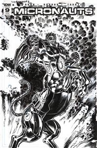 [Micronauts #9 (Subscription Variant A) (Product Image)]