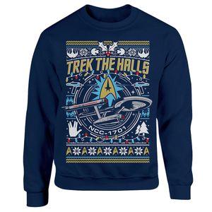 [Star Trek: The Original Series: Christmas Jumper: Trek The Halls (Product Image)]
