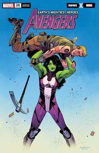 [Avengers #36 (Pichelli Fortnite Variant) (Product Image)]