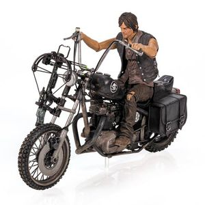 [Walking Dead: Action Figures Set: Daryl Dixon & Motorcycle (Product Image)]