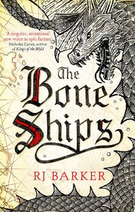 [The Bone Ships (Signed Edition) (Product Image)]