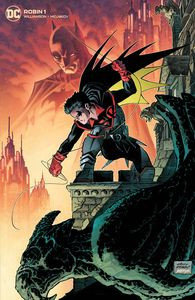[Robin #1 (Team Cover Andy Kubert Card Stock Variant) (Product Image)]