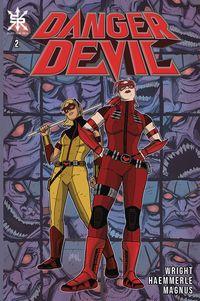 [The cover for Danger Devil #2]