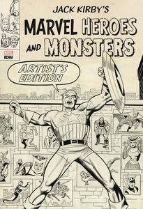 [Jack Kirby: Marvel Heroes & Monsters: Artist Edition (Hardcover) (Product Image)]