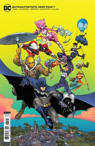 [Batman/Fortnite: Zero Point #1 (Kenneth Rocafort Card Stock Variant) (Product Image)]