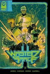 [The cover for Wasted Space #11]