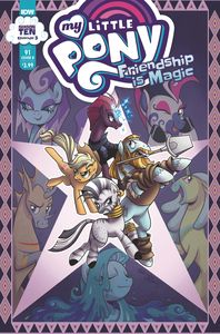 [My Little Pony: Friendship Is Magic #91 (Cover B Hickey) (Product Image)]