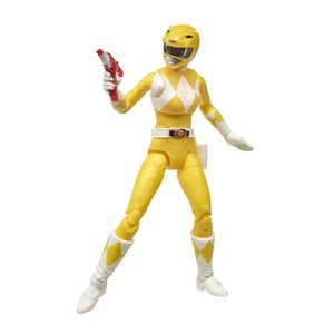 [Mighty Morphin Power Rangers: Lightning Collection Legacy Action Figure: Yellow Ranger (Product Image)]