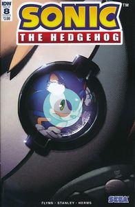 [Sonic The Hedgehog #8 (Cover B Dutreix) (Product Image)]