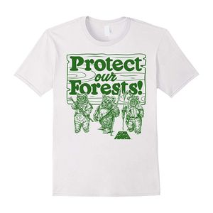 [Star Wars: T-Shirt: Protect Our Forests Ewok (Product Image)]