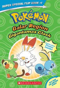 [Pokémon: Super Special Flip Book: Galar Region: Gigantamax Clash/Battle for the Z-Ring (Product Image)]