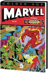 [Golden Age Marvel Comics: Omnibus: Volume 2: Schomburg (DM Variant Hardcover) (Product Image)]