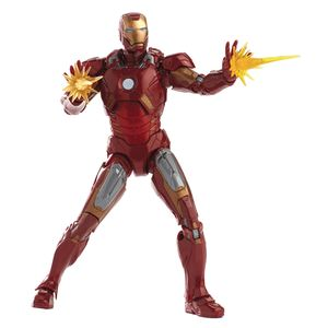 [Marvel: Cinematic Universe 10th Anniversary Action Figure: Iron Man Mark VII (Product Image)]