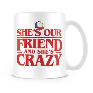 [Stranger Things: Mug: She's Our Friend (Product Image)]