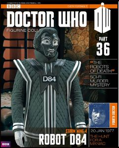 [Doctor Who: Figurine Collection Magazine #36 D84 (Product Image)]