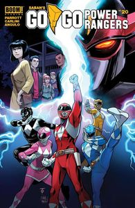 [Go Go Power Rangers #20 (Main & Mix) (Product Image)]