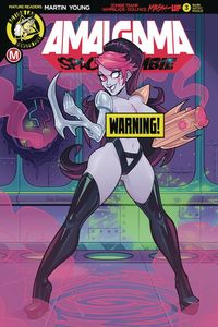 [Amalgama: Space Zombie #3 (Cover F Stanley Risque) (Product Image)]