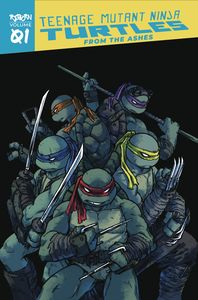 [Teenage Mutant Ninja Turtles: Reborn: Volume 1: From The Ashes (Product Image)]