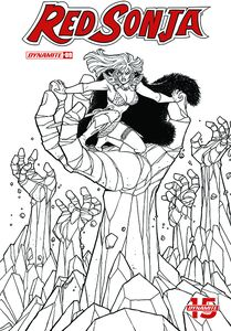 [Red Sonja #9 (Conner Black & White Incentive) (Product Image)]