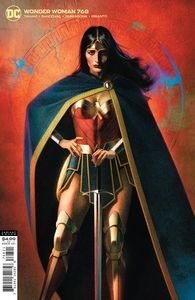 [Wonder Woman #768 (Joshua Middleton Card Stock Variant) (Product Image)]
