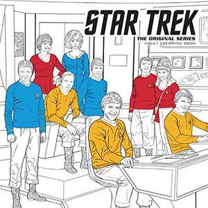 [Star Trek: The Original Series: Adult Coloring Book (Product Image)]