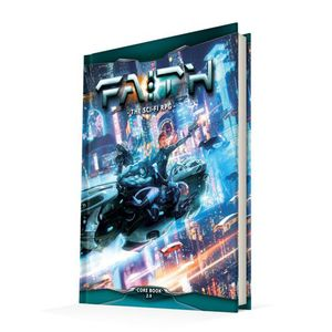 [Faith: The Sci-Fi RPG Core Book (2nd Edition) (Product Image)]