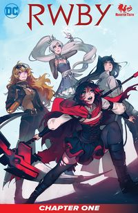 [The cover for RWBY #1]