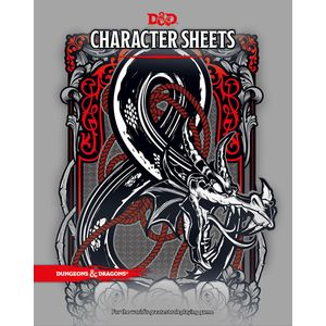 [Dungeons & Dragons: Character Sheets (Product Image)]