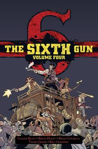 [The Sixth Gun: Volume 4 (Deluxe Hardcover) (Product Image)]