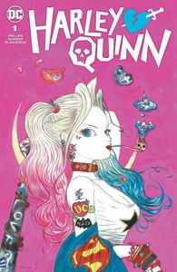 [Harley Quinn #1 (Team Cover Yoshitaka Amano Card Stock Variant) (Product Image)]