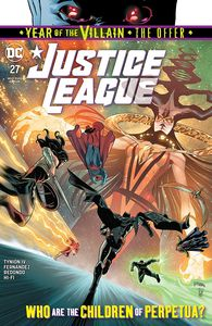 [Justice League #27 (YOTV) (Product Image)]
