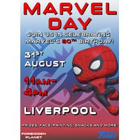 [Celebrating Marvel's 80th Birthday at Forbidden Planet Liverpool! (Product Image)]