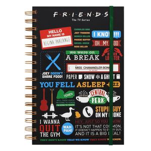 [Friends: Notebook: Infographic (Product Image)]
