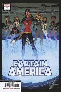 [Captain America #7 (2nd Printing Kubert Variant) (Product Image)]