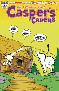 [Casper's Capers #1 (Kremer Vintage Limited Edition Cover) (Product Image)]